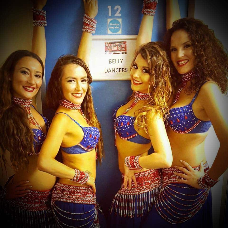London Belly Dance Troupe perform on Sky 1