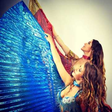 Duet Show belly dancers london