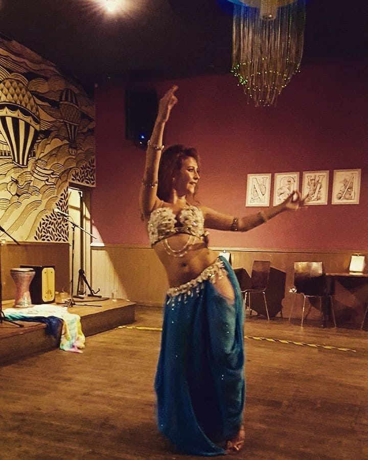 Wedding belly dance show