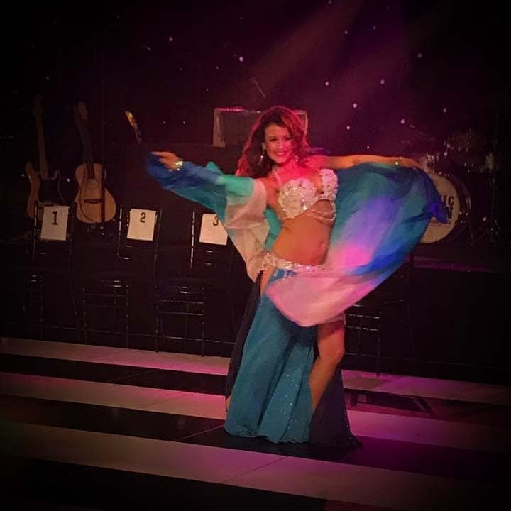 Katie Alyce Belly Dancer Performing in Cheshire