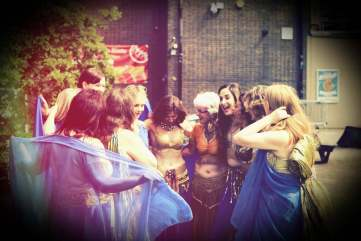 belly dance classes london with Katie Alyce