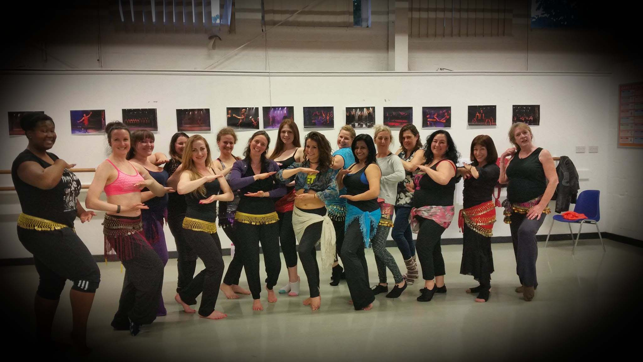 belly dance workshops london with Katie Alyce